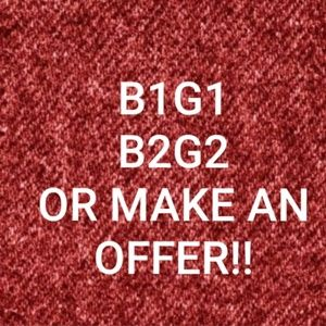 B1G1, B2G2, or Make an Offer on Single Items!!